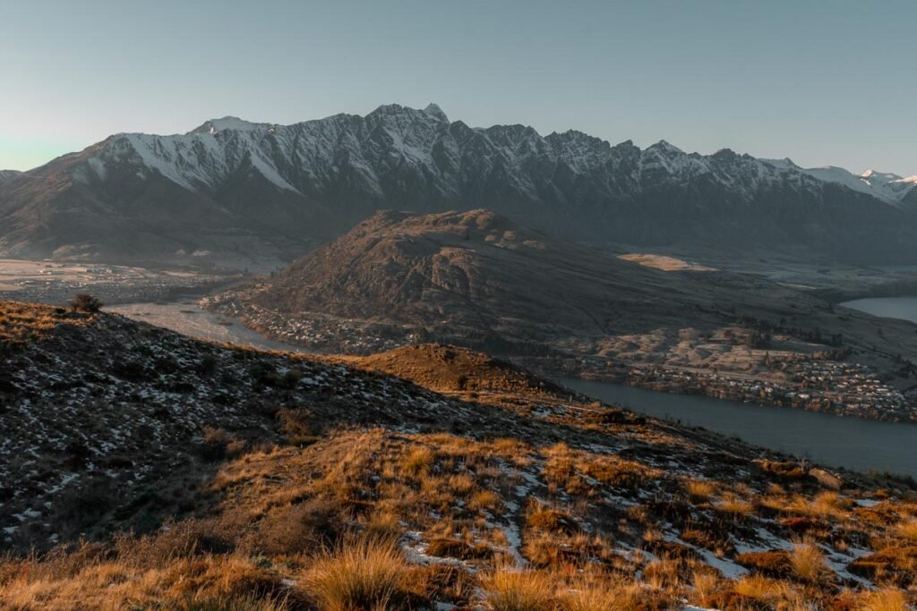 View of the remarkables from Queenstown Hill