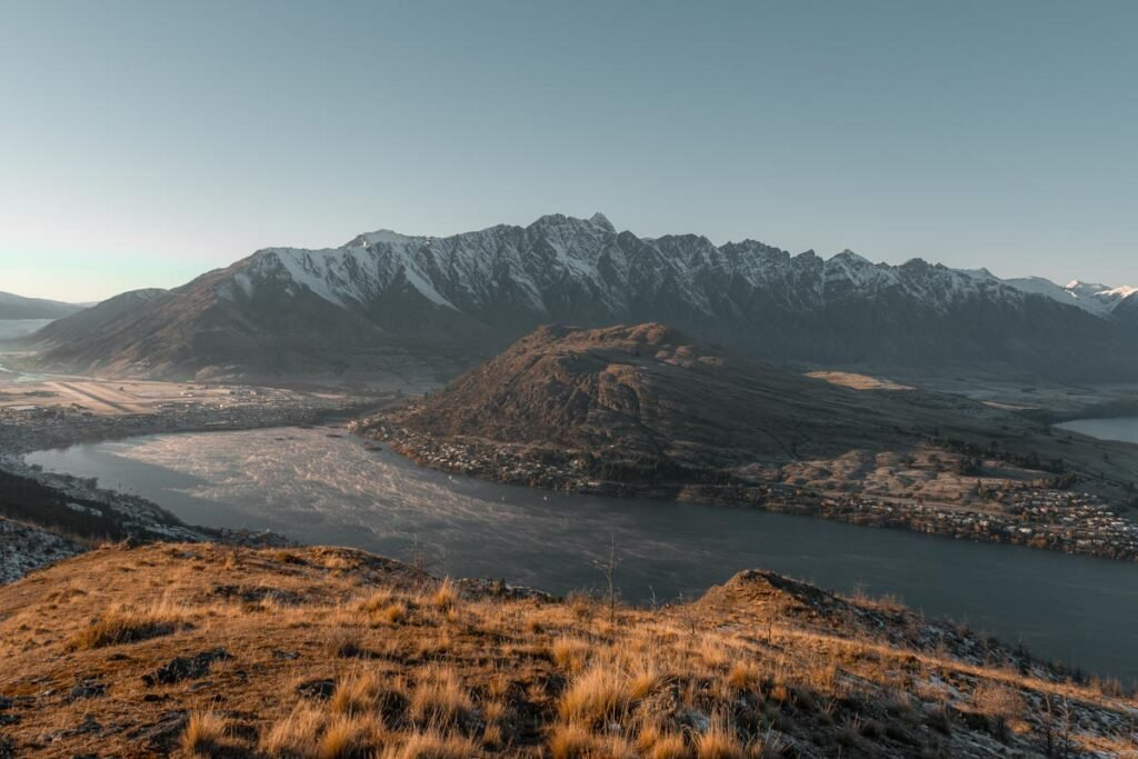 View of Remarkables from Queenstown Hill