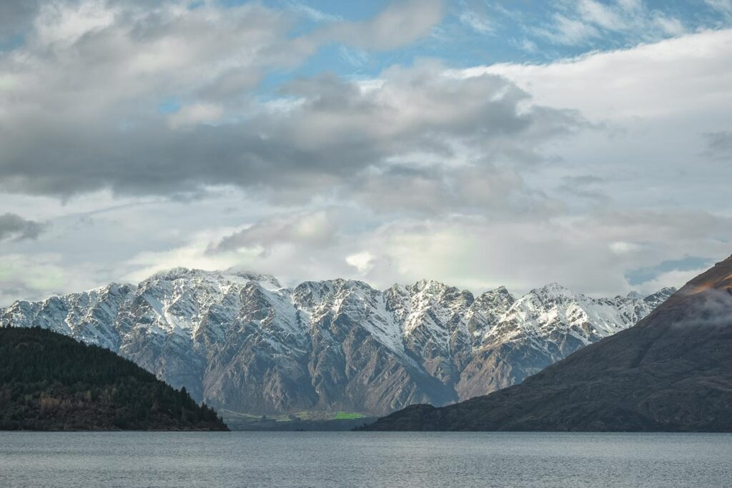 Views of the Remarkables from Bob's Cove
