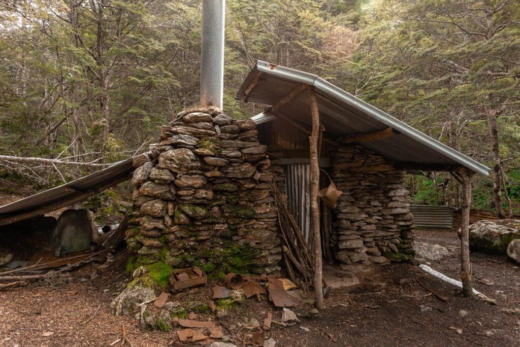 Te Sam Summers Hut on the Mt Crichton Loop
