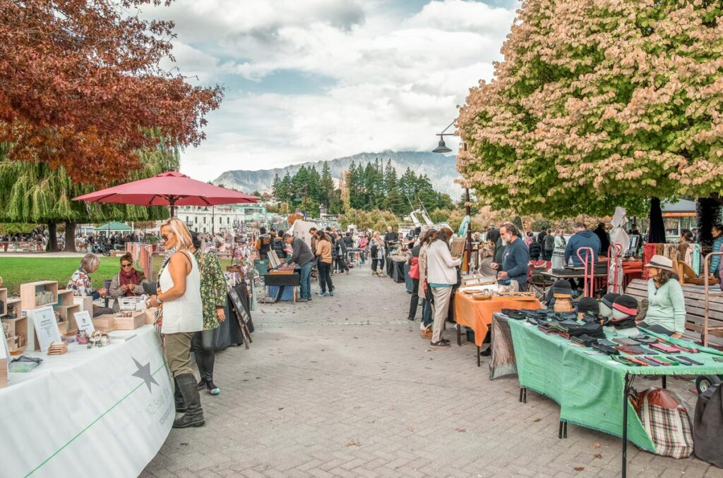Queenstown markets