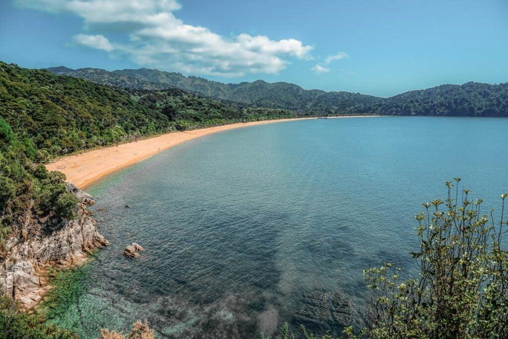Views on the Abel Tasman Coast Track