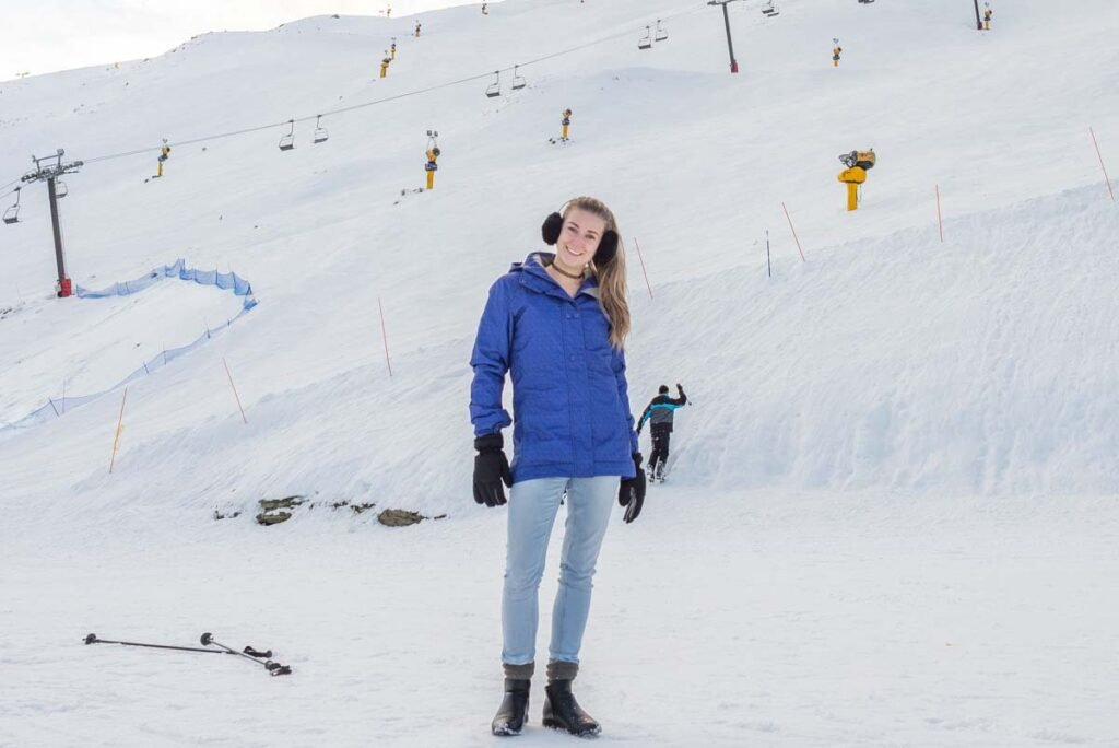 Bailey from My Queenstown Diary at Coronet Peak, New Zealand