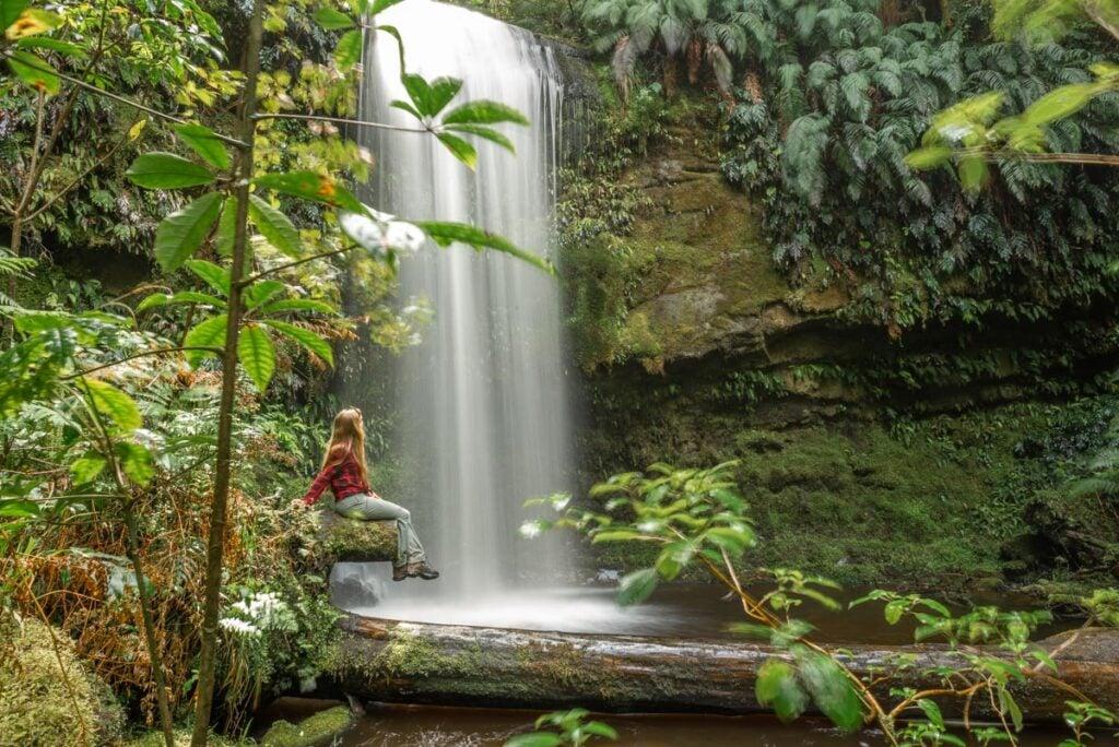 Koropuku Falls in the Catlins