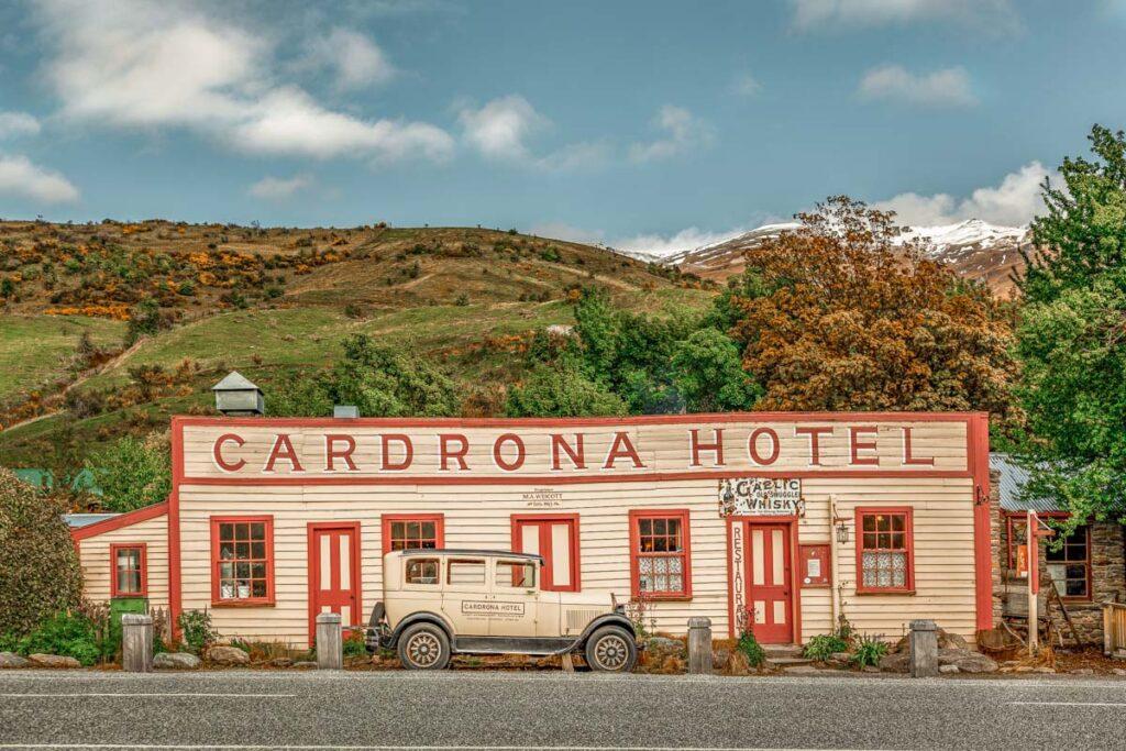 The Cardrona Hotel near Wanaka, New Zealand