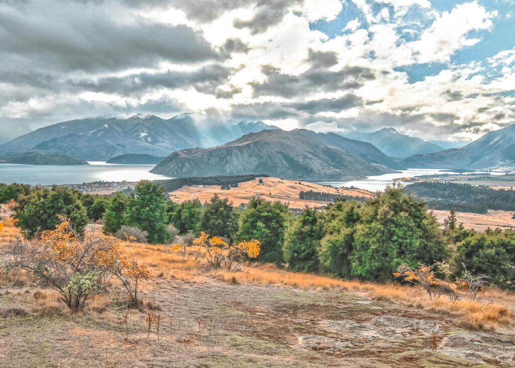 The view from Mt Iron in Wanaka