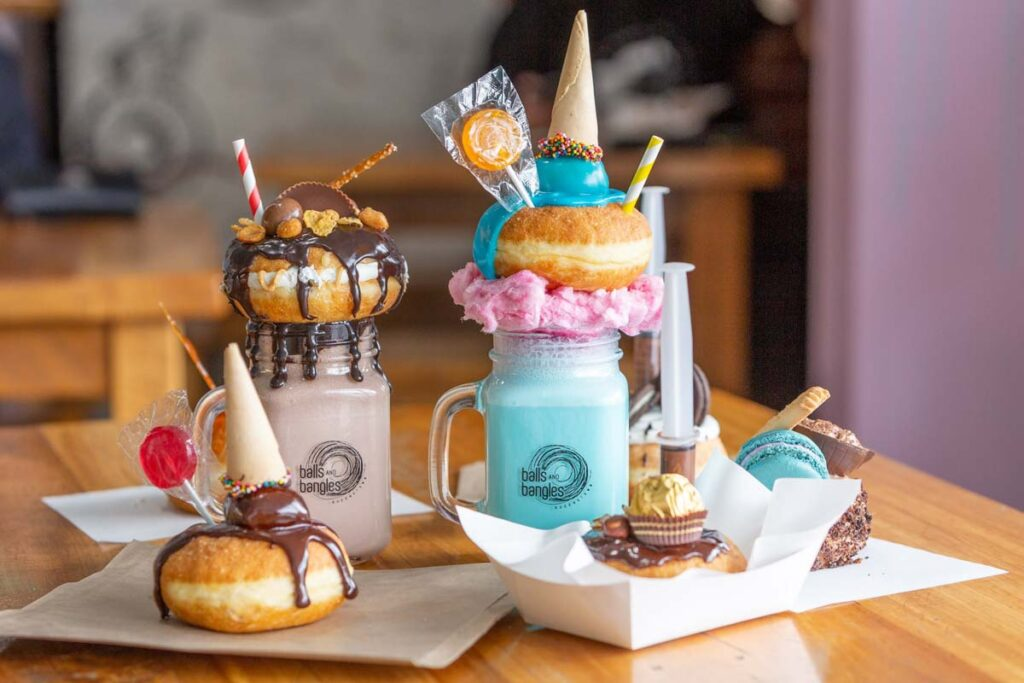 Balls and Bangles doughnuts in Queenstown