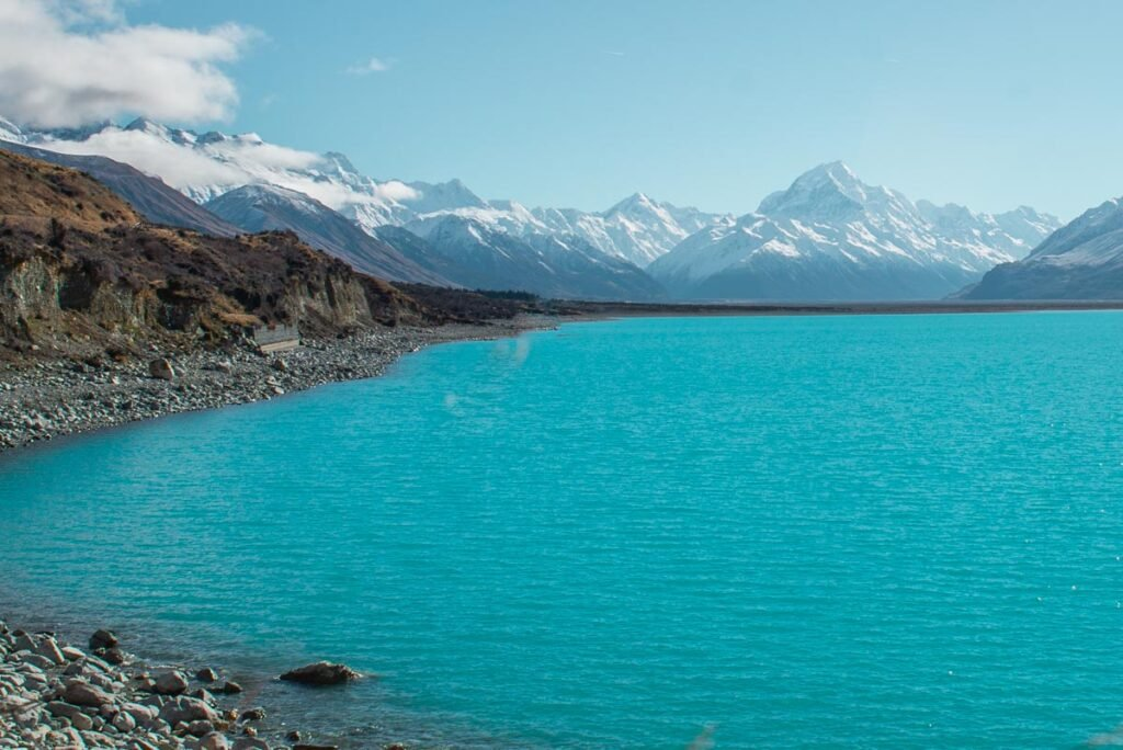 Lake Pukaki in Mount Cook National Park