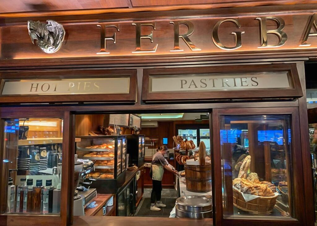The famous Fergbaker in Queenstown