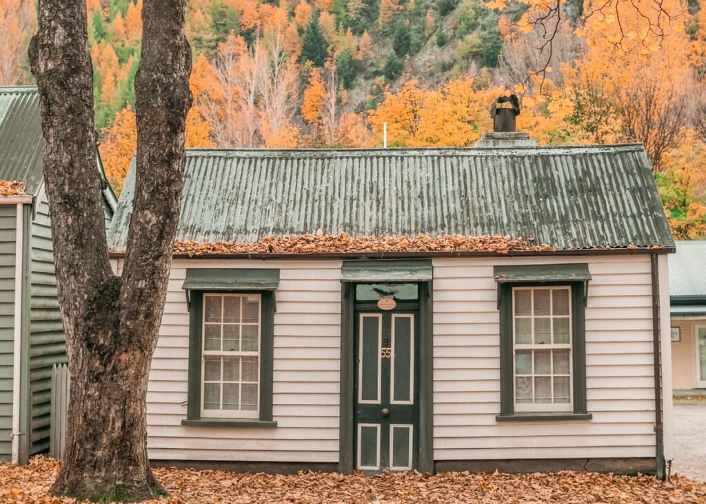 A cute house in Arrowtown New Zealand