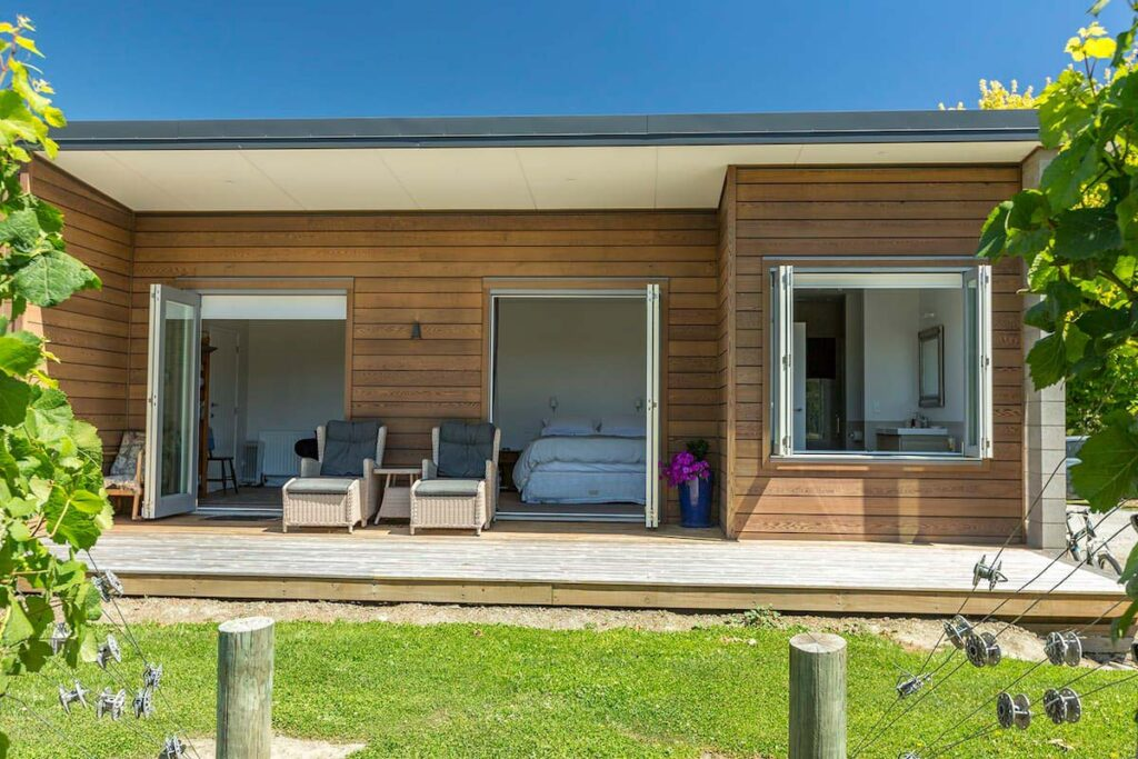 An Airbnb in Cromwell, New Zealand