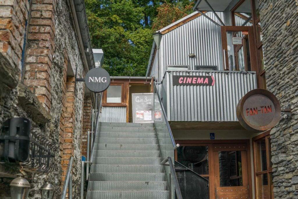 cinema in arrowtown near Queenstown, New Zealand
