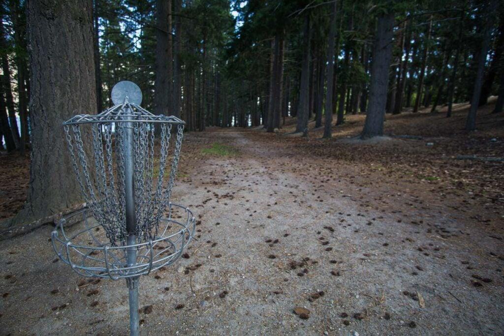 Disc golf Queenstown gardens