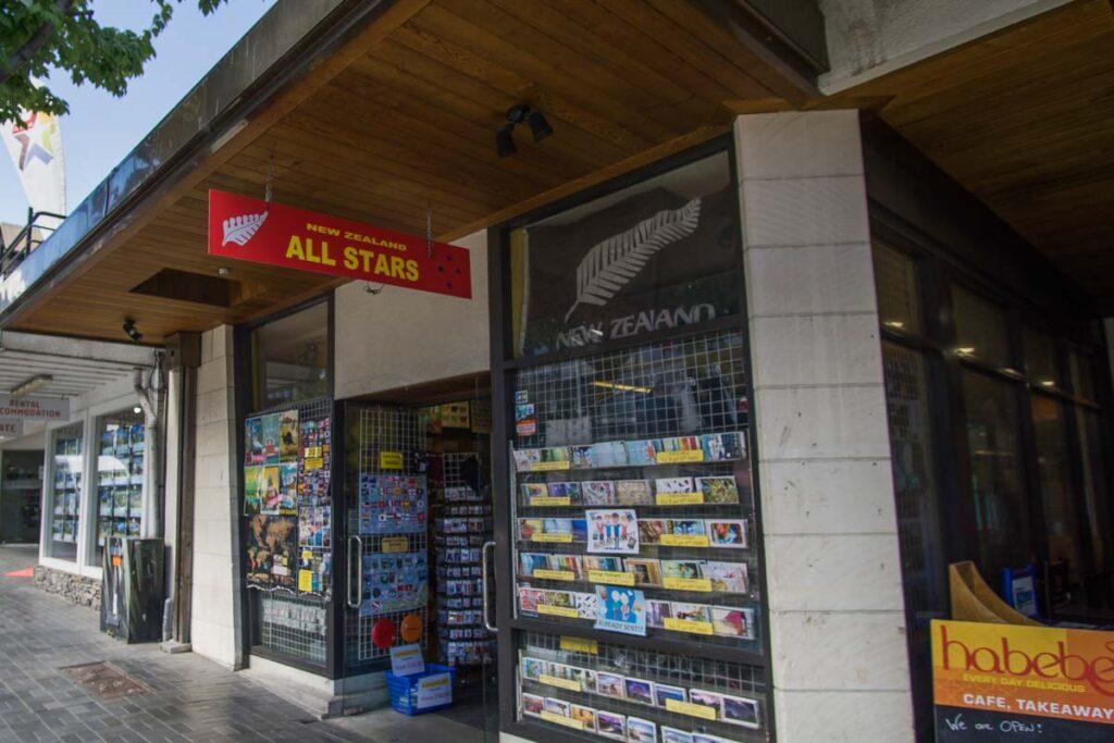 Gift shop in Queenstown 2