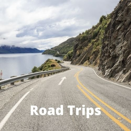 Road trips in New Zealand