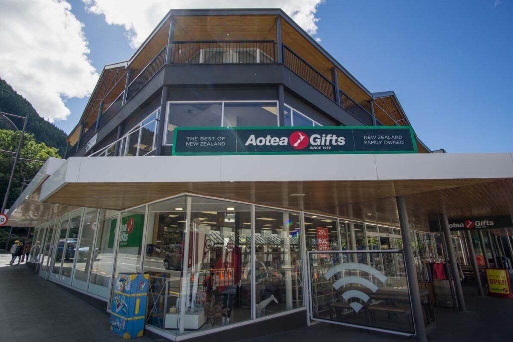 gift shop in Queenstown