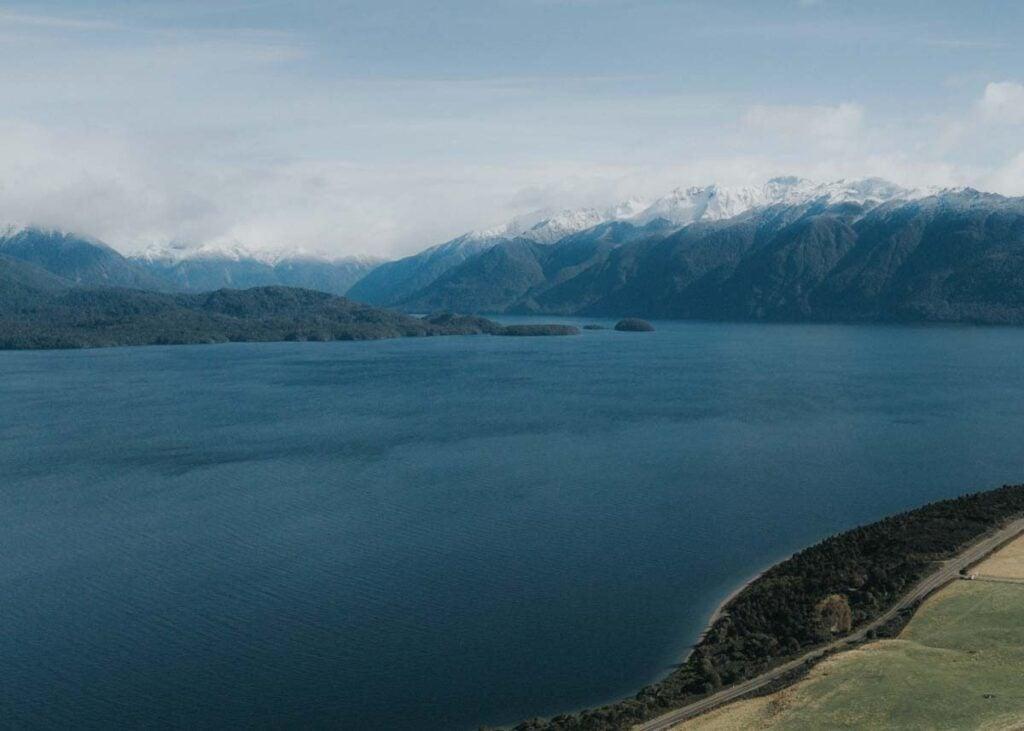 Lake Te Anau Lion lookout