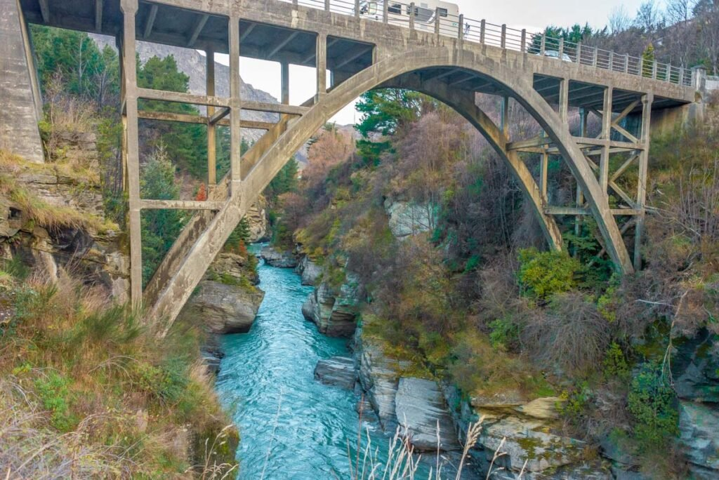 The Shotover River at Arthurs Point