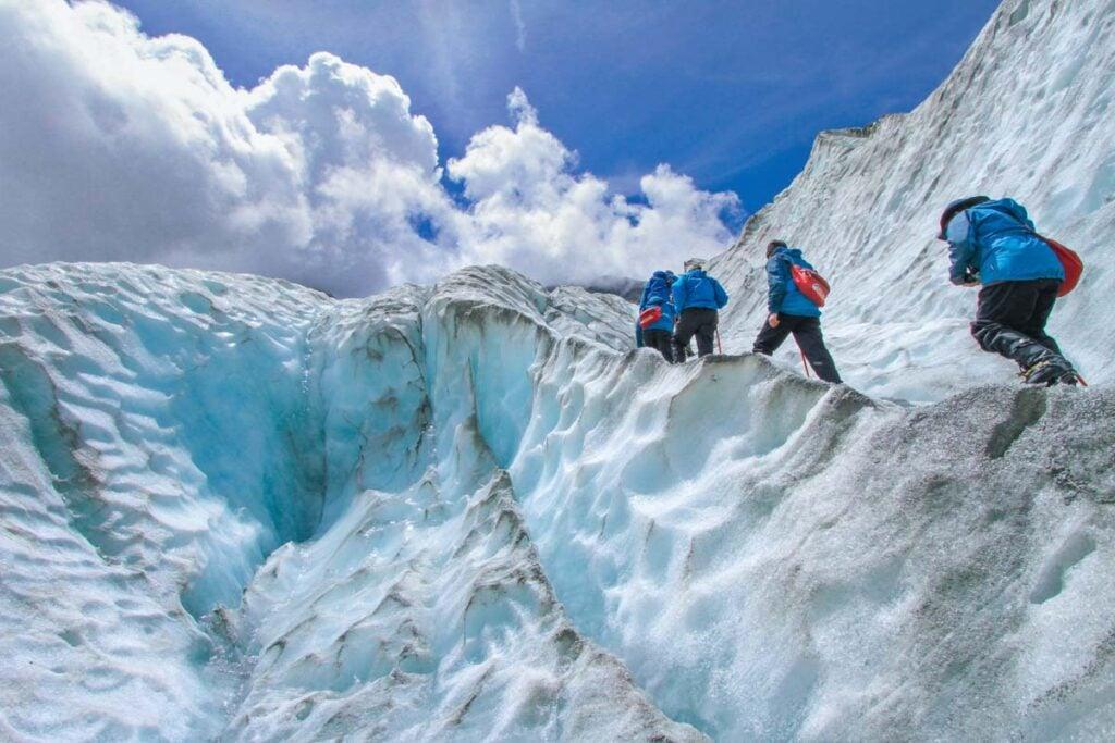 Franz Josef Glacier trekking tour