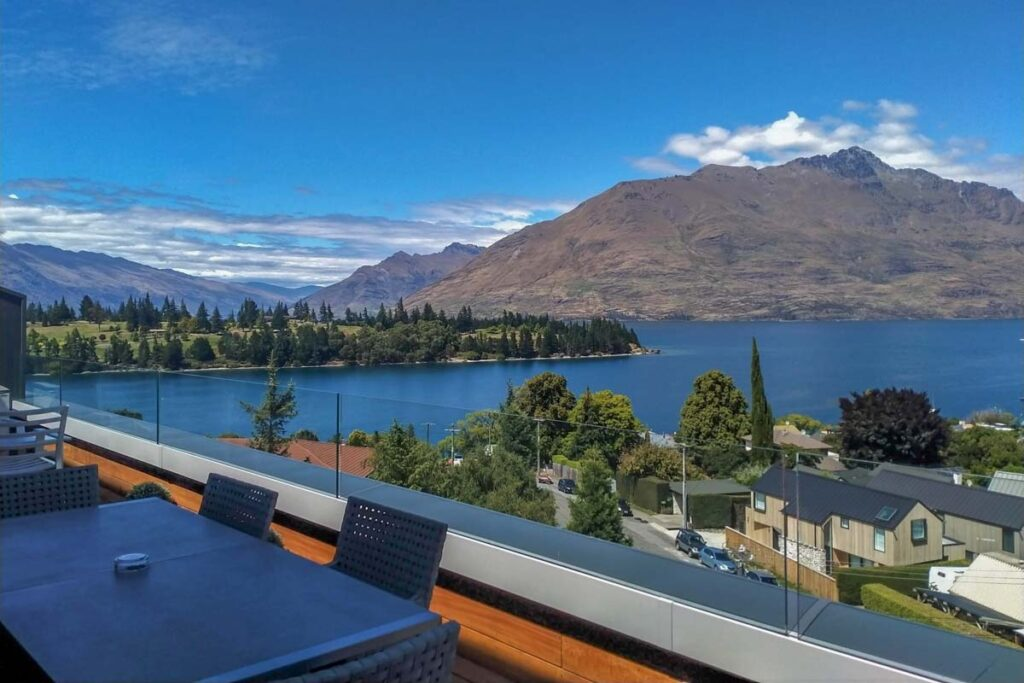 Ramada Queenstown Central views from balcony