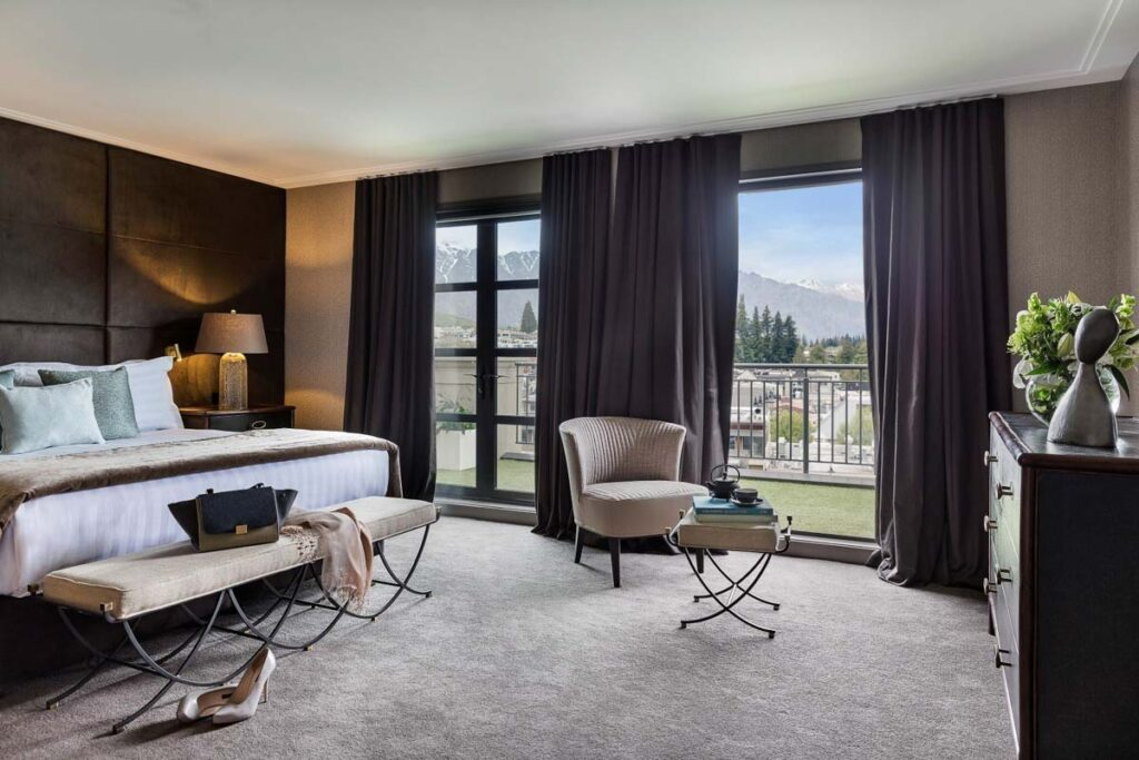 Sofitel Queenstown Hotel and Spa hotel room