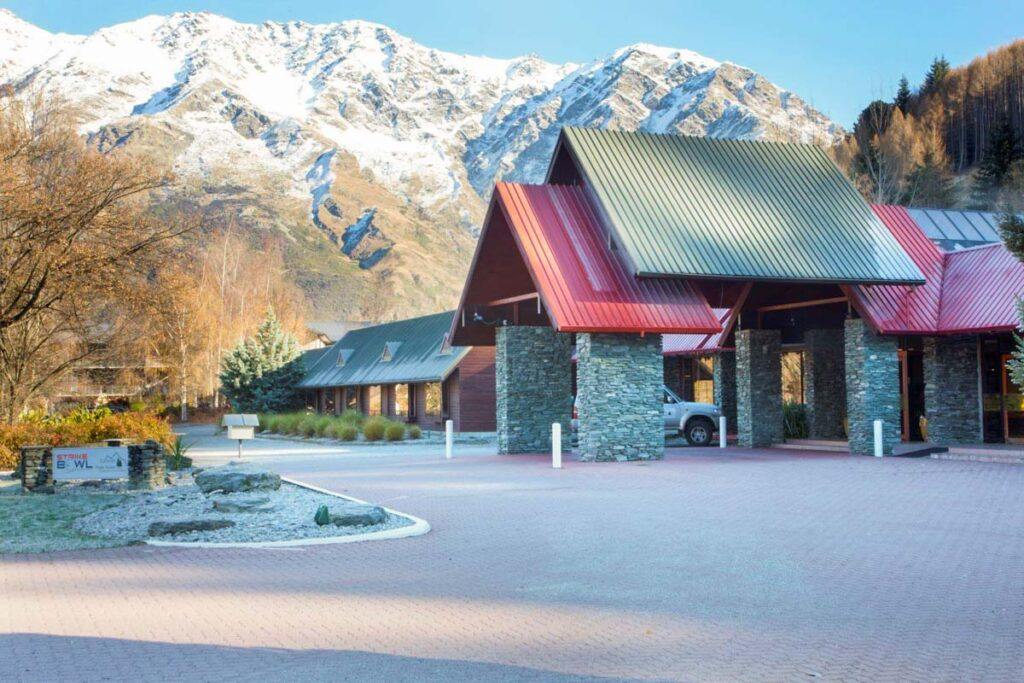Swiss Belresort Coronet Peak just outside of Queenstown