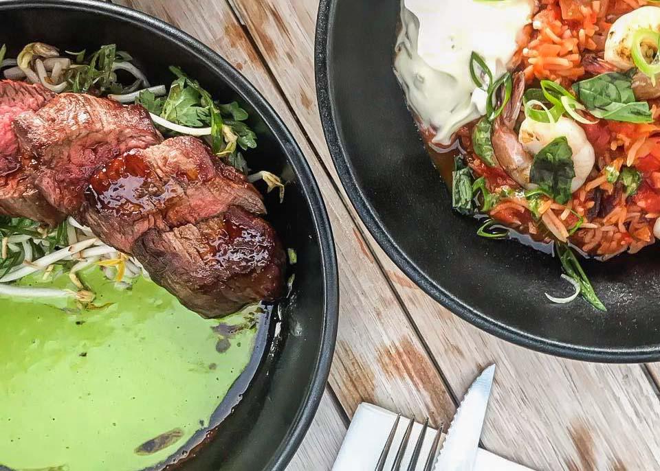 Two meals at Kota Restaurant & Bar
