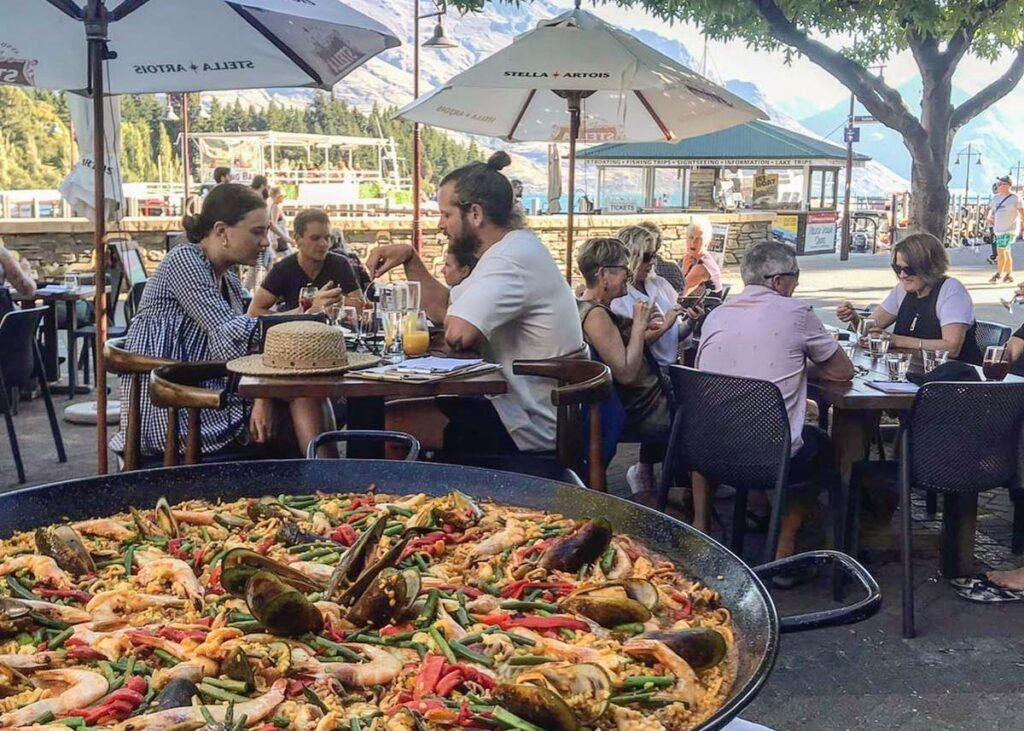 The Paella from Pedro's by the Lake