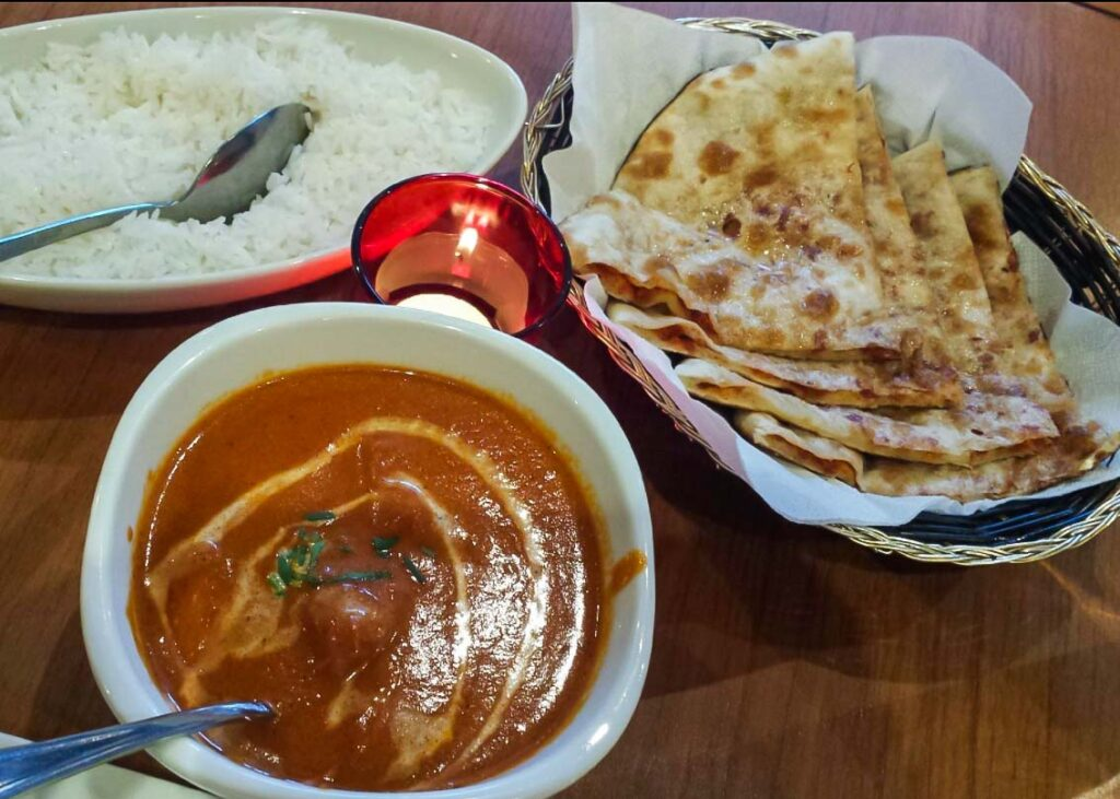 curry at the Spice Room in Wanaka
