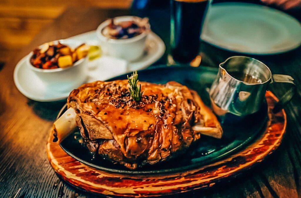Lamb shoulder at Wanaka Gourmet Kitchen