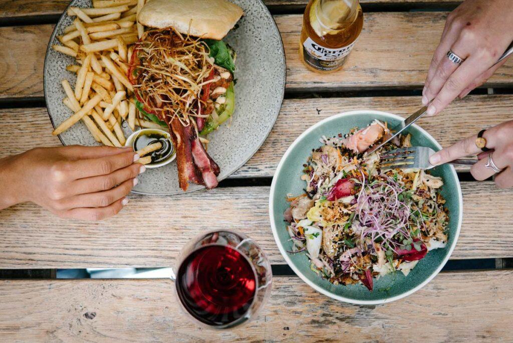 Meals at Yonder in Queenstown