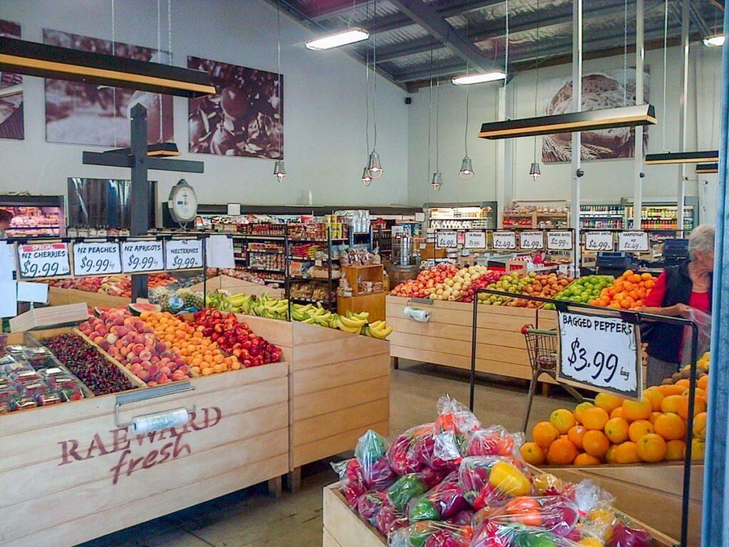 Produce at Raeward Fresh