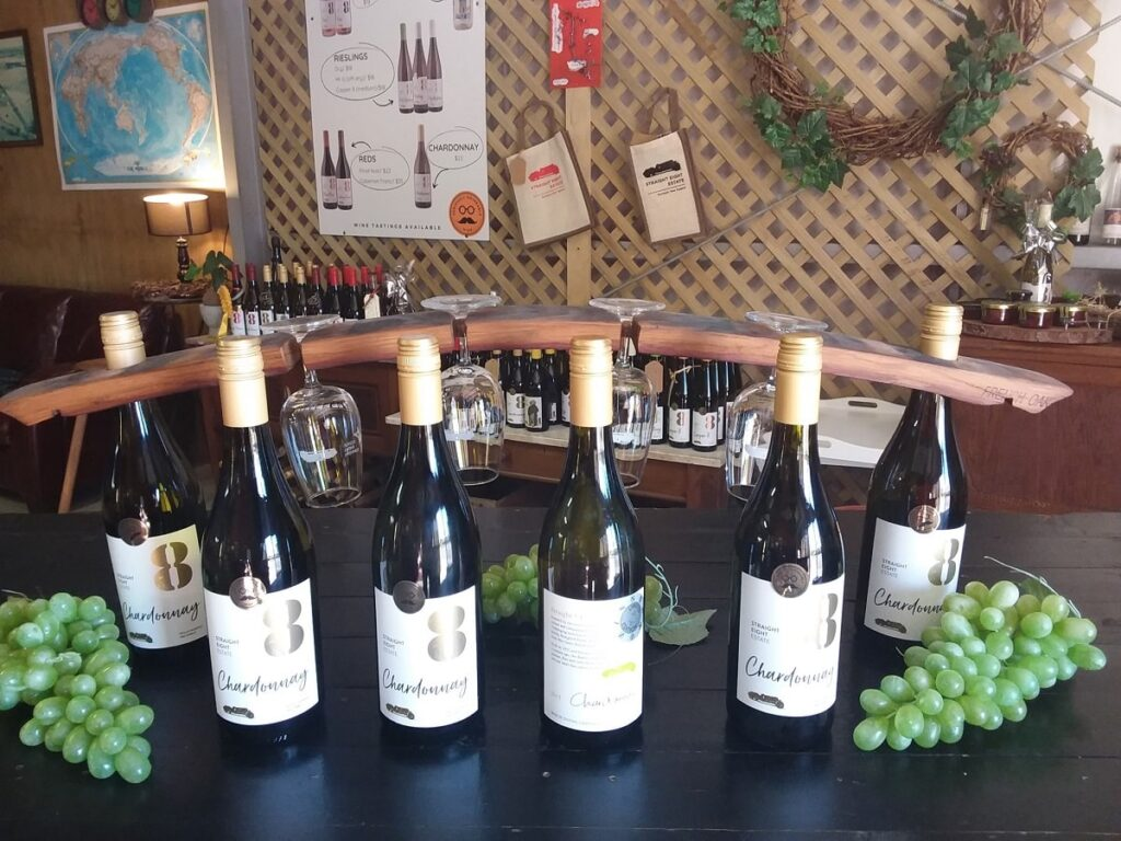 wine for sale at Straight 8 Estate