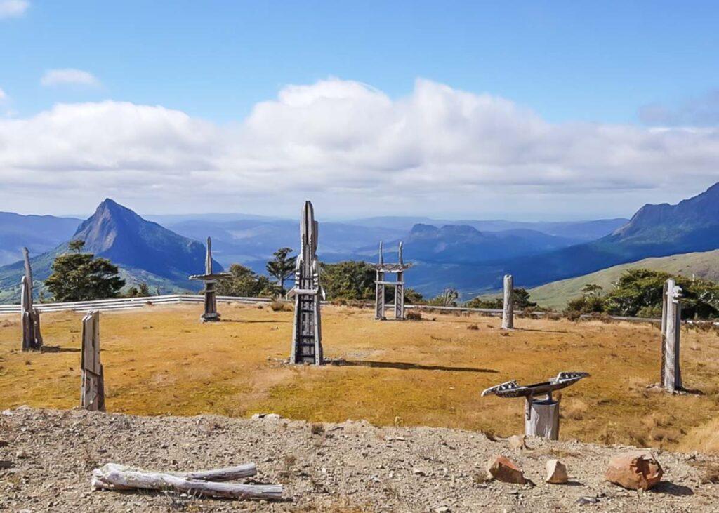 Mount Hikurangi summit, New Zealand